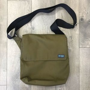Jack Spade Fatigue Olive Green Crossbody Satchel
